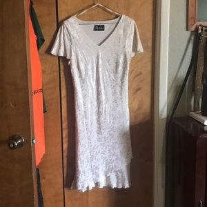 Ivory toned size 12 dress
